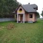Dom w stanie surowym w Nowym Dziebałtowie k. Końskich.